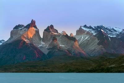 Cordillera Del Paine. Granite Monoliths. Torres Del Paine NP. Chile