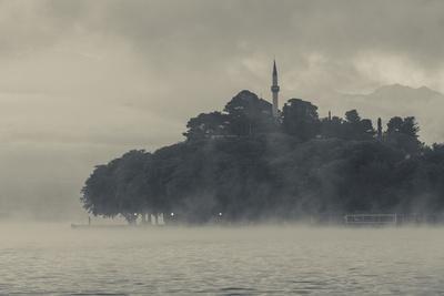Greece, Ioannina, Municipal Ethnographic Museum and Lake Pamvotis