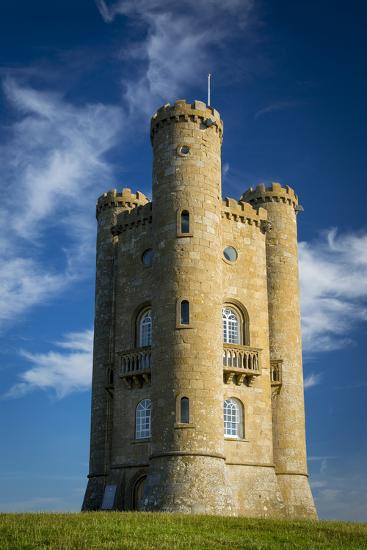 Morning At Broadway Tower Cotswolds Worcestershire
