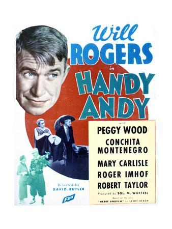 Handy Andy - Movie Poster Reproduction