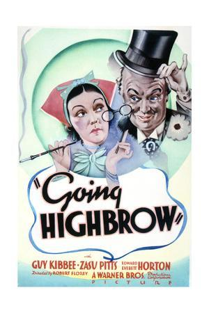 Going Highbrow - Movie Poster Reproduction