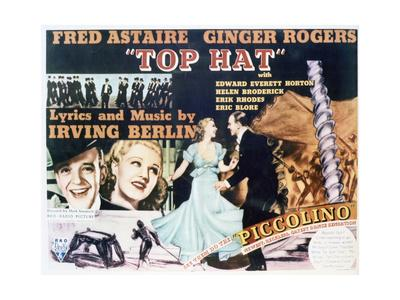Top Hat - Lobby Card Reproduction