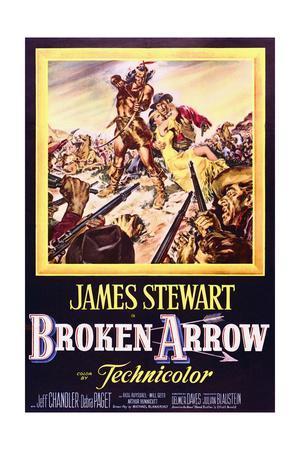 Broken Arrow - Movie Poster Reproduction