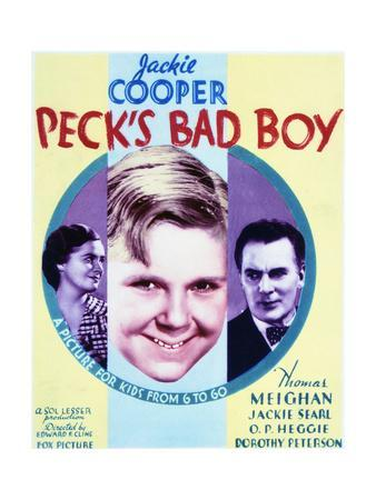 Peck's Bad Boy - Movie Poster Reproduction