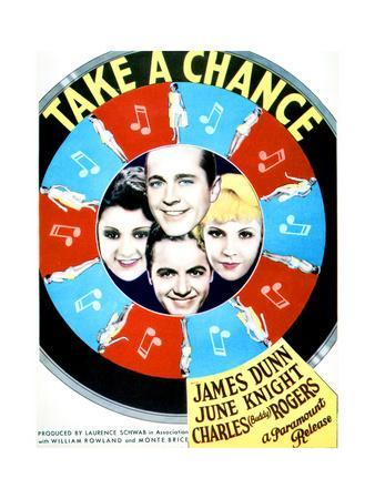 Take a Chance - Movie Poster Reproduction