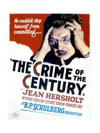 The Crime of the Century - Movie Poster Reproduction
