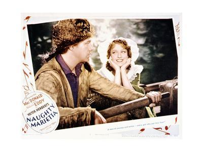 Naughty Marietta - Lobby Card Reproduction