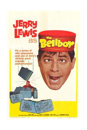 The Bellboy - Movie Poster Reproduction