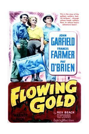 Flowing Gold - Movie Poster Reproduction