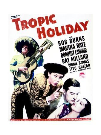 Tropic Holiday - Movie Poster Reproduction
