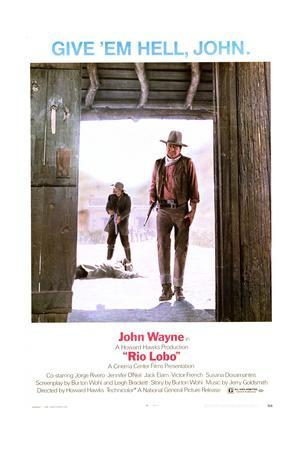 Rio Lobo - Movie Poster Reproduction