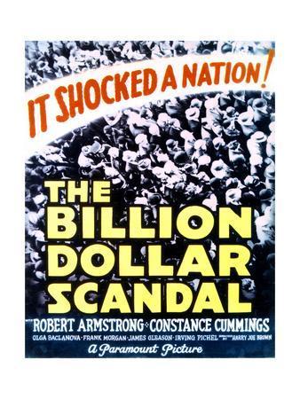 Billion Dollar Scandal - Movie Poster Reproduction