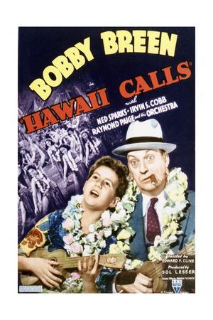 Hawaii Calls - Movie Poster Reproduction