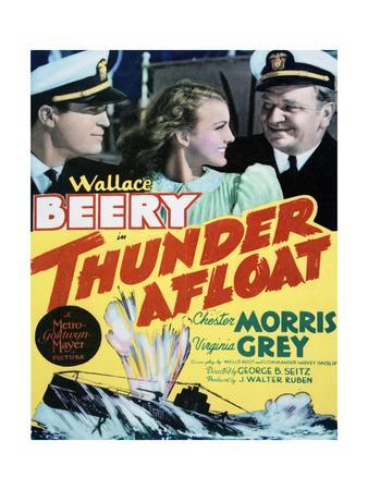 Thunder Afloat - Movie Poster Reproduction