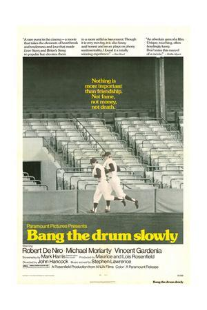 Bang The Drum Slowly - Movie Poster Reproduction