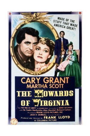 The Howards of Virginia - Movie Poster Reproduction