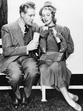 Jeanette Macdonald And Nelson Edd