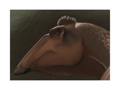 Edmontosaurus Regalis Dinosaur Portrait
