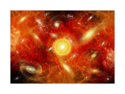 Artist's Concept of the Big Bang Theory