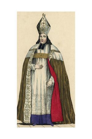 St-Albin, Charles, Costume