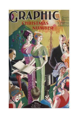 The Graphic Christmas Number Front Cover 1930