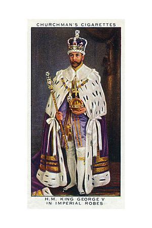 George V, Coronation Robe