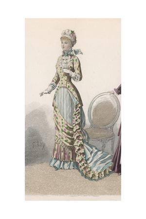 History of Fashion 1880