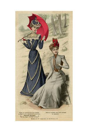Frocks, Red Parasol 1899