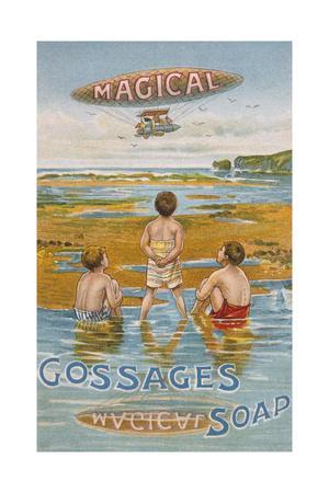 Advert, Gossage Soap 1900