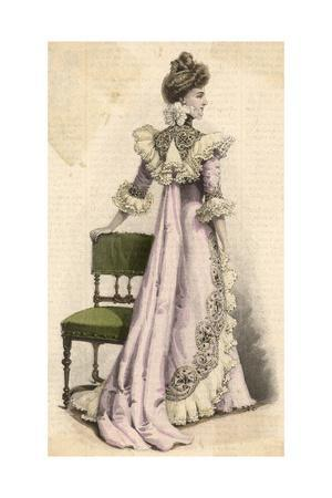 Pink Teagown 1899