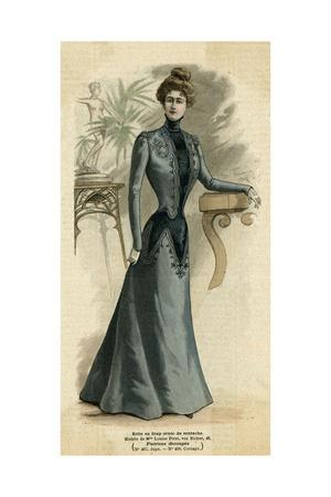 Grey Dress, Soutache 1899