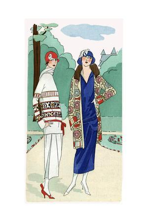 Two Ladies in Outfits by Madeleine Et Madeleine