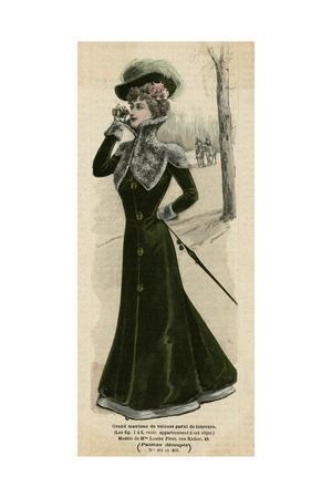 Green Velvet Coat 1899