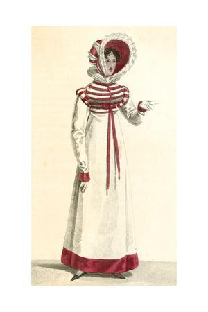 Red and White Costume 1818