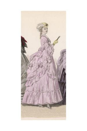 Woman in Pink Dress, 1869