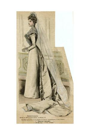 Wedding Dress 1899