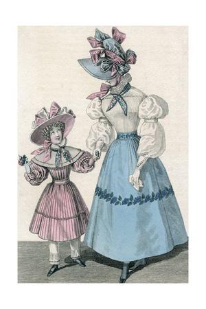 Girl Fashions 1828