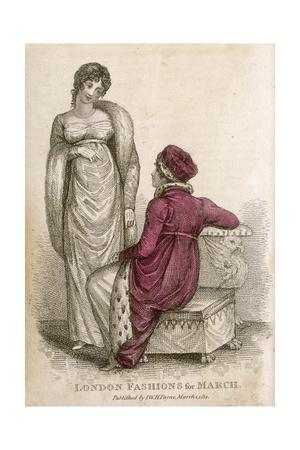 Morning and Evening Dress 1814