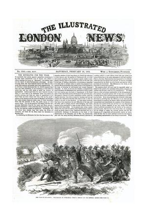 Illustrated London News Front Cover - Schleswig Holstein War, 1864