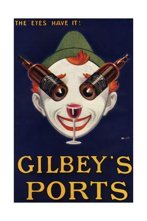 Gilbeys Ports Advertisement