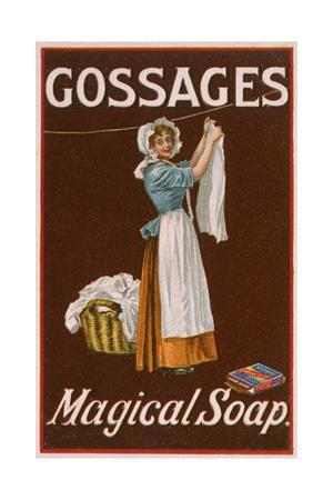 Advert, Gossage Soap 1900