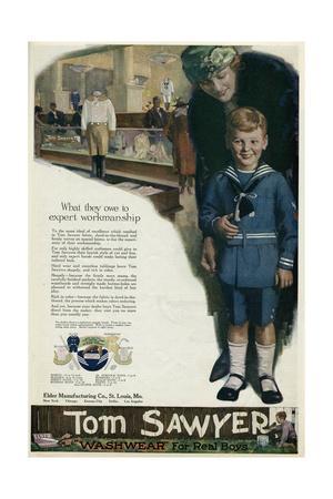 Boys' Wear Advert 1920