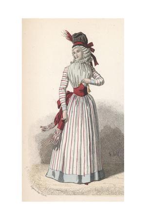 Frenchwoman 1790