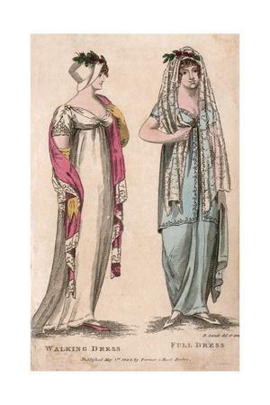 Walking Dress 1804