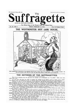 Newspaper, Suffragette