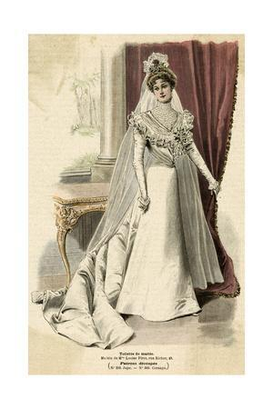 Wedding Dress 1899