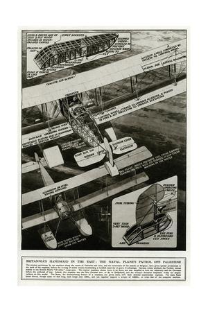 British Naval Seaplane, the Britannia Aovo, WW1