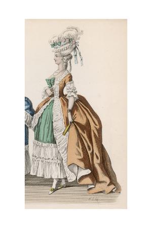 Frenchwoman 1780