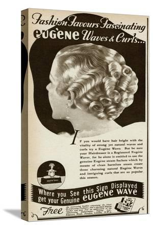 Advert for Eugene Waves and Curls 1936