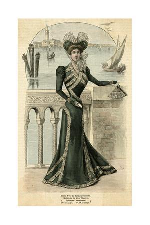 Green Dress 1899